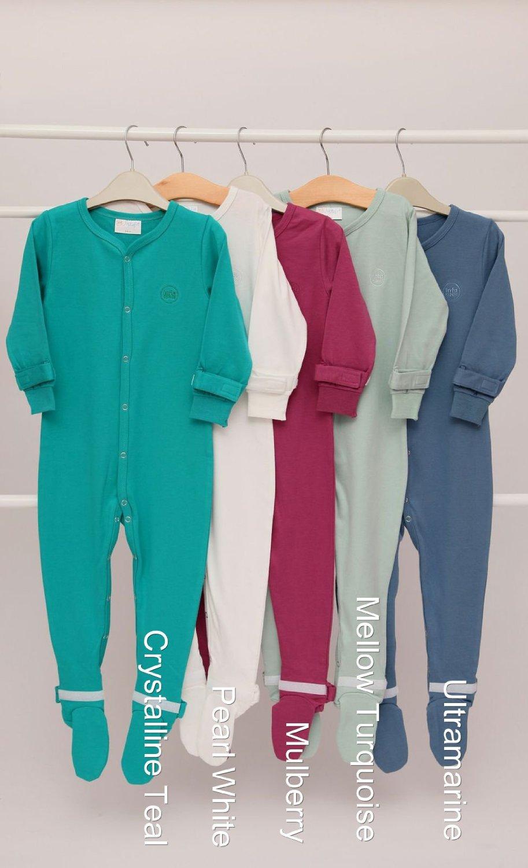 Infasense Adjustable Baby Grow Sleepsuit 100/% Cotton 2 PACK