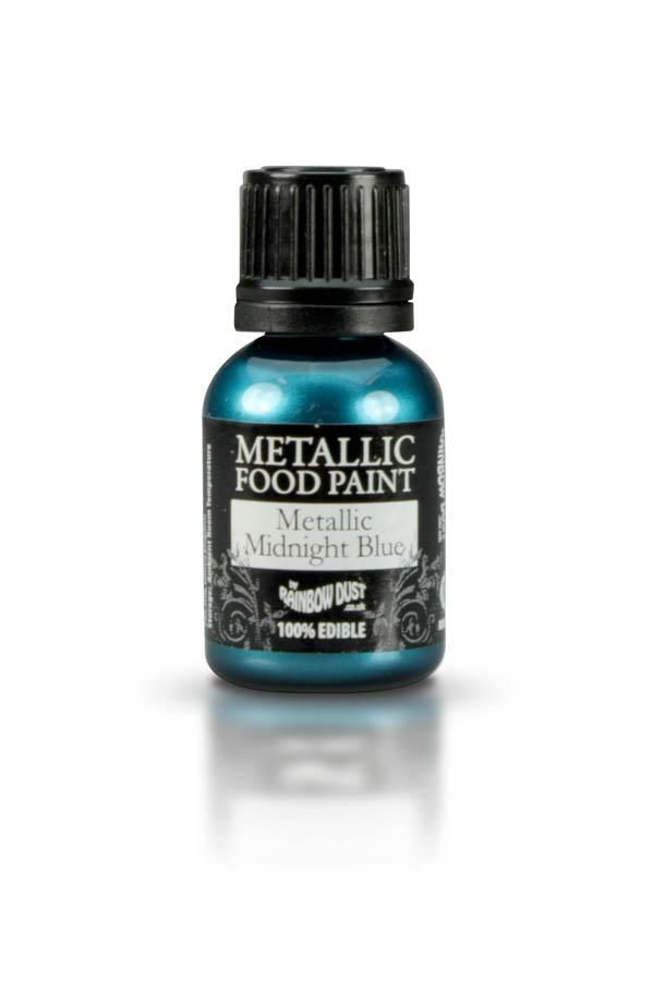 Rainbow Dust Metallic Food Paint Set